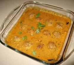 Gosht Kofta Korma